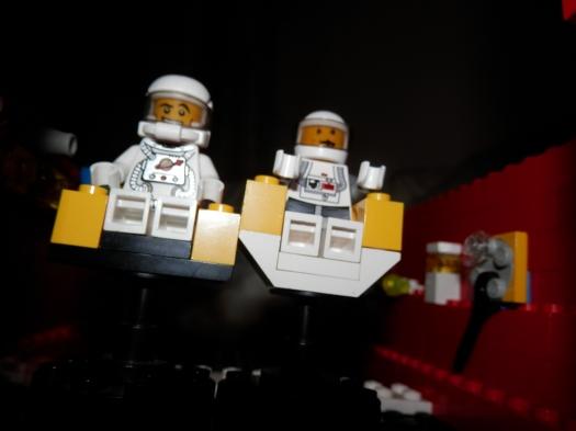 astronauts shot